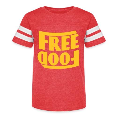 Free Food hanger shirt - Kid's Vintage Sport T-Shirt