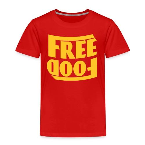 Free Food hanger shirt - Toddler Premium T-Shirt
