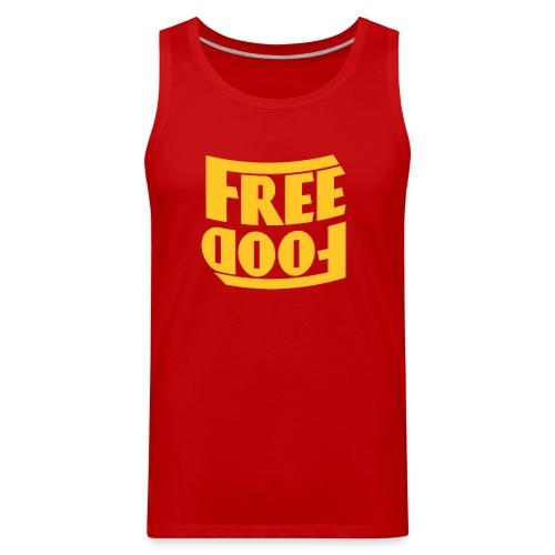 Free Food hanger shirt - Men's Premium Tank