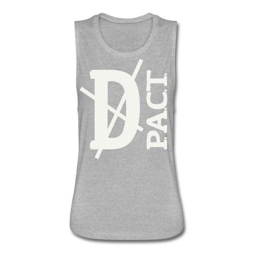Death P.A.C.T. hanger shirt - Women's Flowy Muscle Tank by Bella