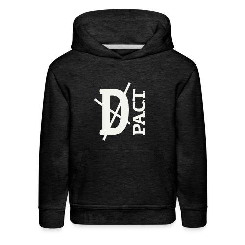 Death P.A.C.T. hanger shirt - Kids' Premium Hoodie
