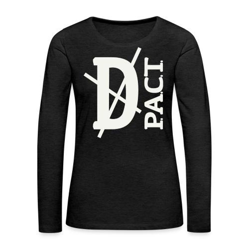 Death P.A.C.T. hanger shirt - Women's Premium Long Sleeve T-Shirt