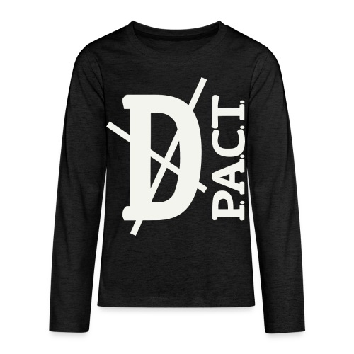 Death P.A.C.T. hanger shirt - Kids' Premium Long Sleeve T-Shirt
