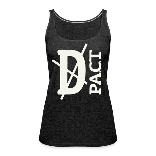 Death P.A.C.T. hanger shirt - Women's Premium Tank Top