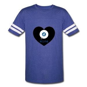 B-mine The Burstcoin miners shirt - Vintage Sport T-Shirt