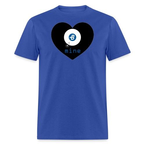 B-mine The Burstcoin miners shirt - Men's T-Shirt