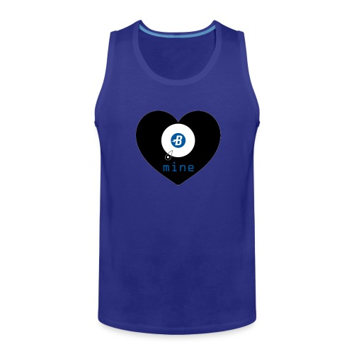 B-mine The Burstcoin miners shirt - Men's Premium Tank