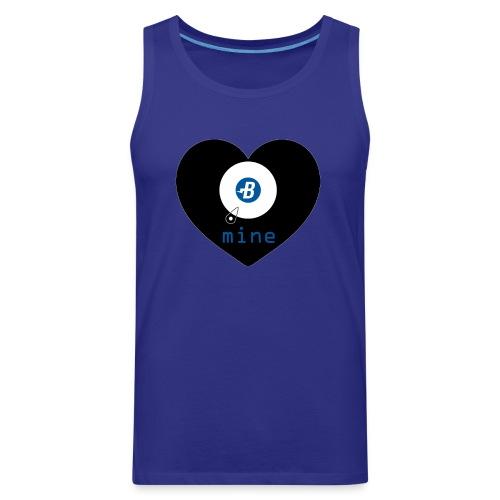 B-mine The Burstcoin miners shirt - Men's Premium Tank