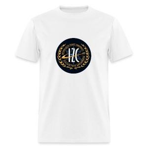 Intergalactic Zionist Conspiracy Button - Men's T-Shirt