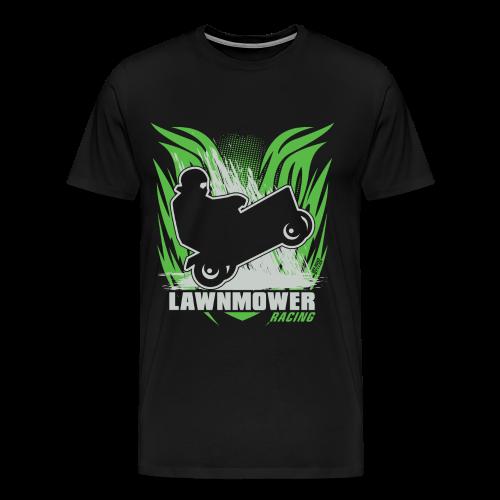 Lawnmower Racing Badge