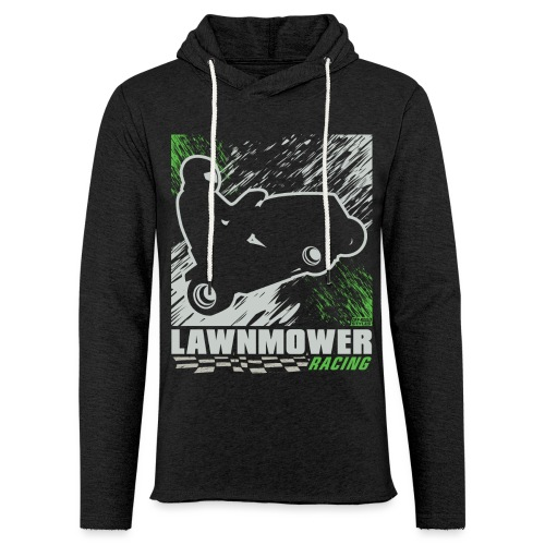 Lawnmower Racing - Unisex Lightweight Terry Hoodie