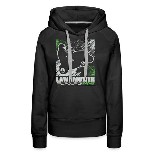 Lawnmower Racing - Women's Premium Hoodie
