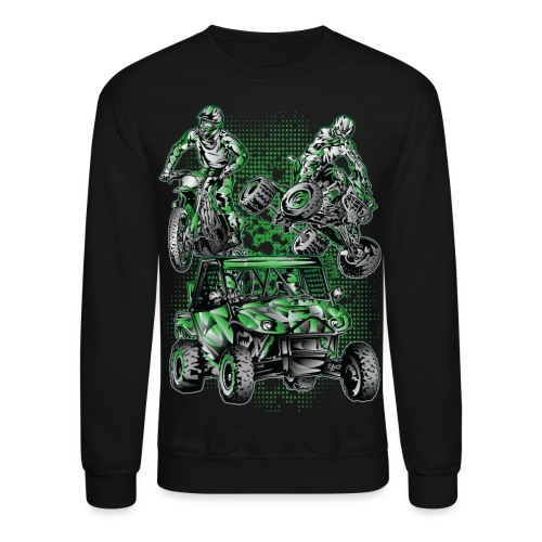 Extreme Motorsports Kawasaki - Crewneck Sweatshirt