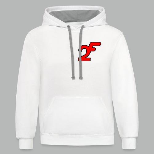 FAST2DR Chest Logo Tshirt - Contrast Hoodie