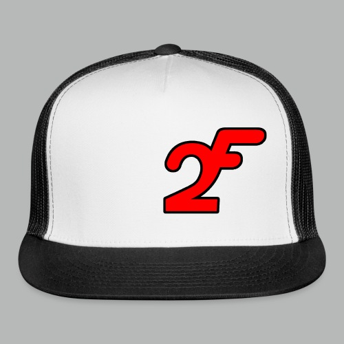 FAST2DR Chest Logo Tshirt - Trucker Cap
