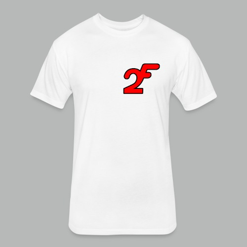 FAST2DR Chest Logo Tshirt - Fitted Cotton/Poly T-Shirt by Next Level