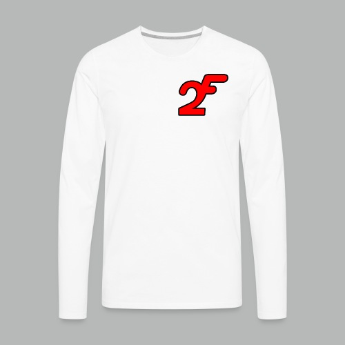 FAST2DR Chest Logo Tshirt - Men's Premium Long Sleeve T-Shirt