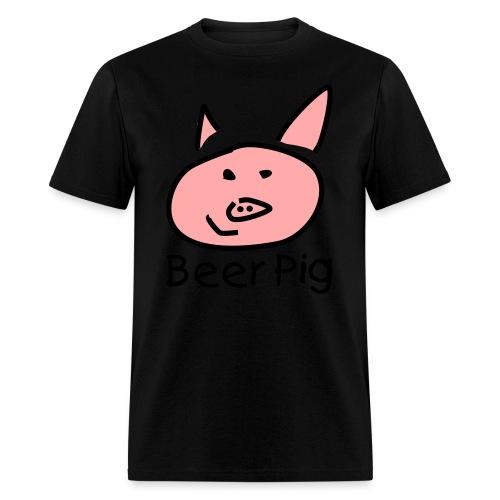 Beer Pig  - Men's T-Shirt