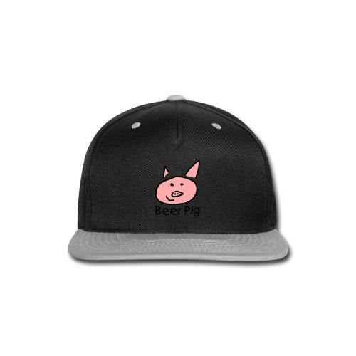 Beer Pig  - Snap-back Baseball Cap