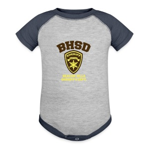 Beacon Hills Sheriff's Department (Large Logo) - Crew-neck - Baby Contrast One Piece