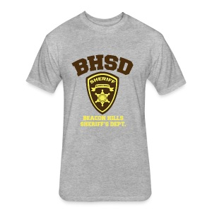 Beacon Hills Sheriff's Department (Large Logo) - Crew-neck - Fitted Cotton/Poly T-Shirt by Next Level