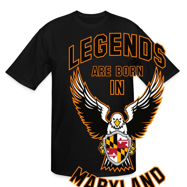 Legends are born in Maryland
