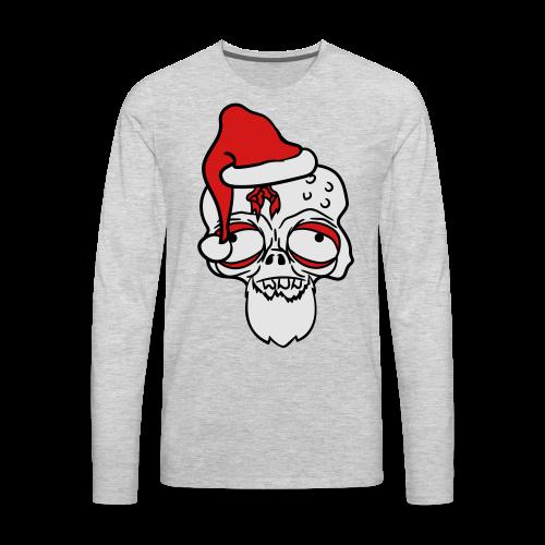 Messed Up Santa - Men's Premium Long Sleeve T-Shirt