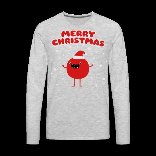Merry Christmas Guy - Men's Premium Long Sleeve T-Shirt