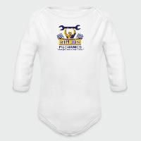 Rim Job Mechanics - Long Sleeve Baby Bodysuit