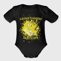 Golden Showers Health Spa V2 - Short Sleeve Baby Bodysuit