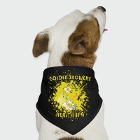 Golden Showers Health Spa V2 - Dog Bandana