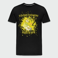 Golden Showers Health Spa V2 - Men's Premium T-Shirt