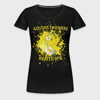 Golden Showers Health Spa V2 - Women's Premium T-Shirt