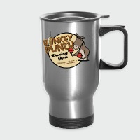 Donkey Punch Boxing Gym - Travel Mug