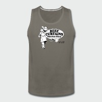 Beef Curtains Butcher Shop - Men's Premium Tank