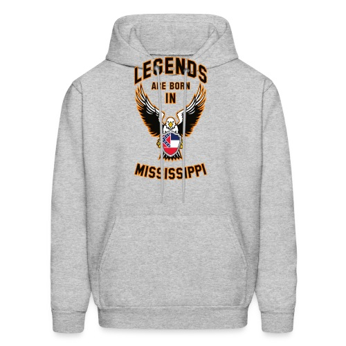Legends are born in Mississippi - Men's Hoodie