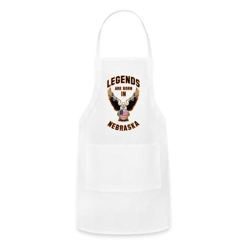 Legends are born in Nebraska - Adjustable Apron