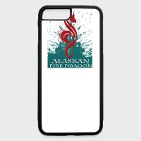 Alaskan Fire Dragon - iPhone 7 Plus/8 Plus Rubber Case