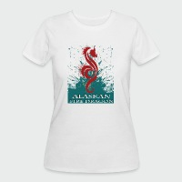 Alaskan Fire Dragon - Women's 50/50 T-Shirt