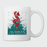 Alaskan Fire Dragon - Coffee/Tea Mug