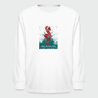 Alaskan Fire Dragon - Kids' Long Sleeve T-Shirt