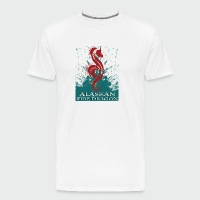Alaskan Fire Dragon - Men's Premium T-Shirt