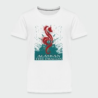 Alaskan Fire Dragon - Toddler Premium T-Shirt