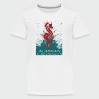 Alaskan Fire Dragon - Kids' Premium T-Shirt