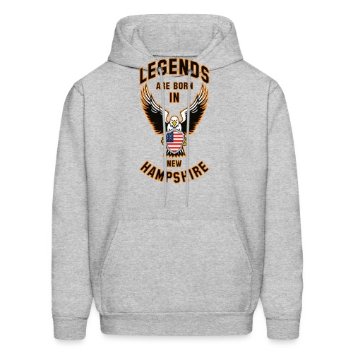 Legends are born in New Hampshire - Men's Hoodie