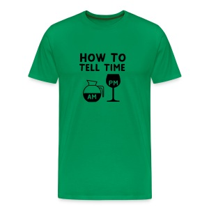How to tell time - Men's Premium T-Shirt