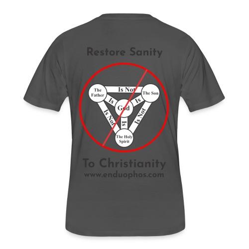 Restore sanity to Christianity - Men's 50/50 T-Shirt