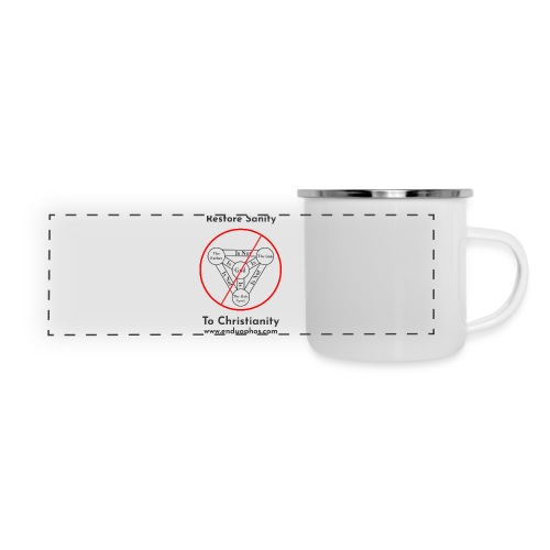 Restore sanity to Christianity - Panoramic Camper Mug
