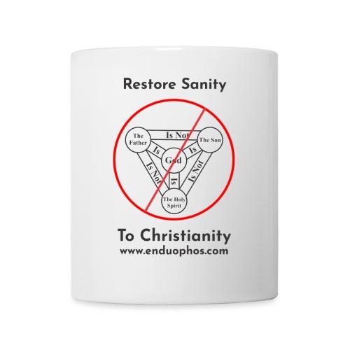 Restore sanity to Christianity - Coffee/Tea Mug