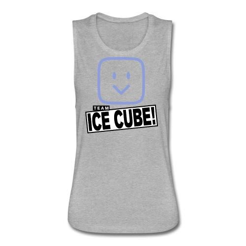 Team IC! hanger shirt dark - Women's Flowy Muscle Tank by Bella